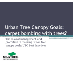 Urban Tree Canopy Goals